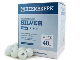 Tafeltennisballen Heemskerk Silver 2 ster Wit (120)