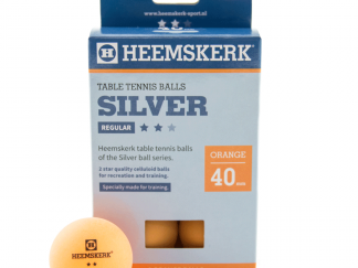 Tafeltennisballen Heemskerk Silver 2 ster Oranje (6)