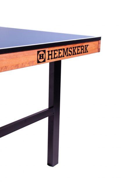 Tafeltennistafel Heemskerk Original Blauw Metalen Onderstel