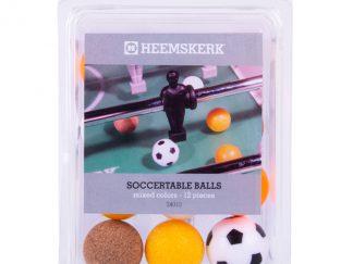 Tafelvoetbalballetjes Assorti per 12
