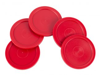 Airhockey Pucks 63mm Rood
