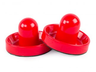 Airhockey Pushers 95mm Rood