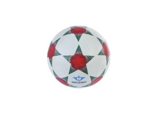 Straatvoetbal Rubber wit-ster