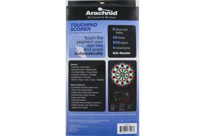 Dartcounter Electronic LCD Dartscorer Doos Achterkant
