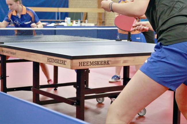 Tafeltennistafel Heemskerk Novi 2400 Blauw Eredivisietafel 2