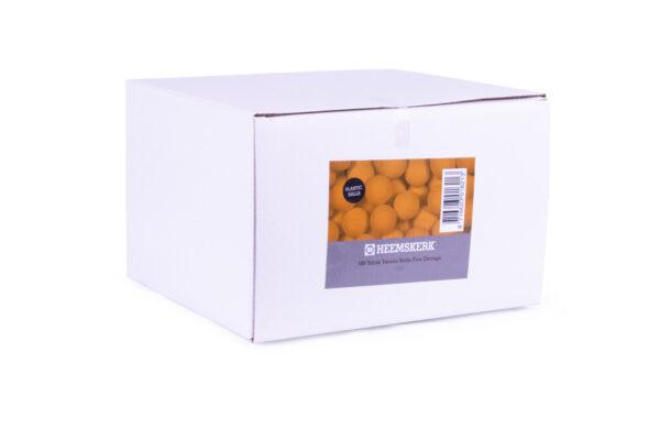 Tafeltennisballen Fun Oranje Doos
