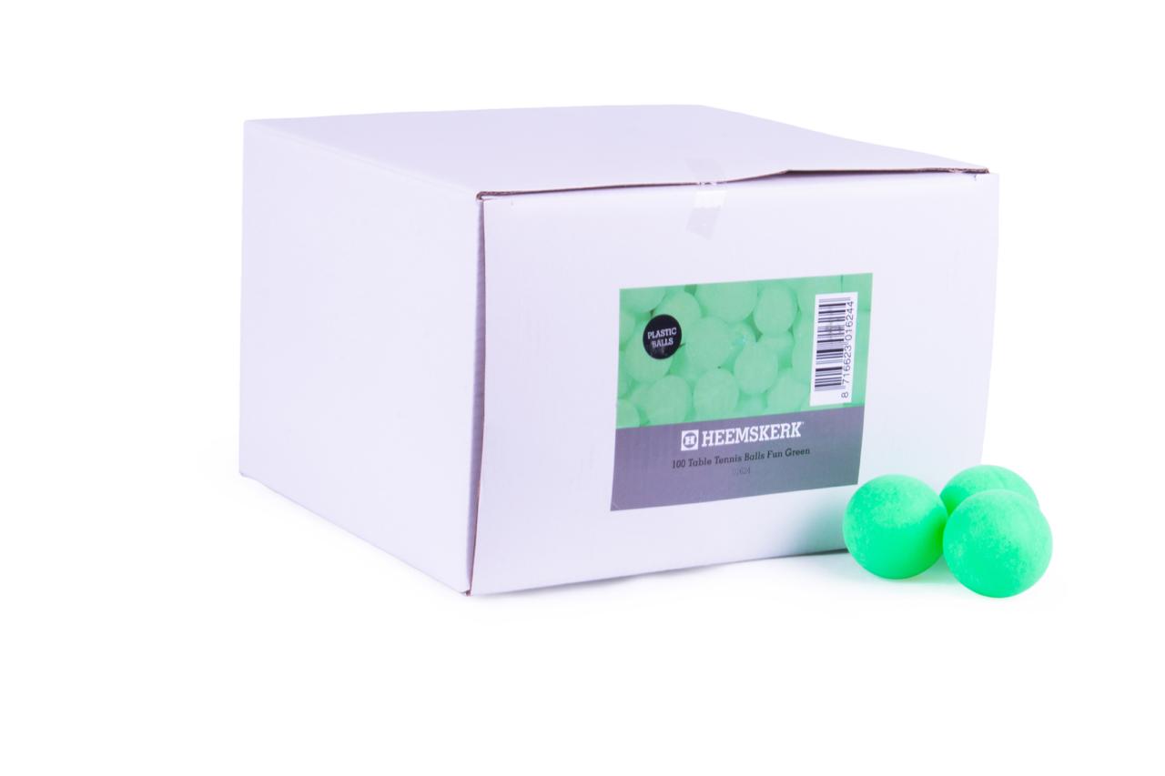 Tafeltennisballen Fun Groen