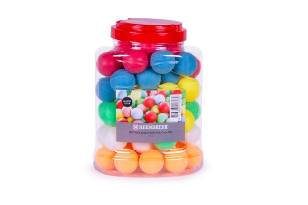 Tafeltennisballen Fun Kleuren Mix