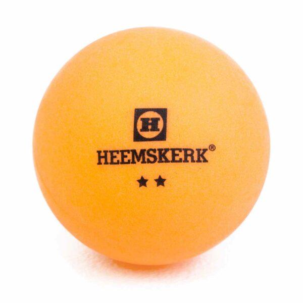 Tafeltennisbal Heemskerk Silver 2 ster Oranje