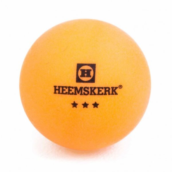 Tafeltennisbal Heemskerk Gold 3 Ster Oranje