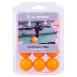 Tafelvoetbalballetjes Glad Oranje per 12 stuks