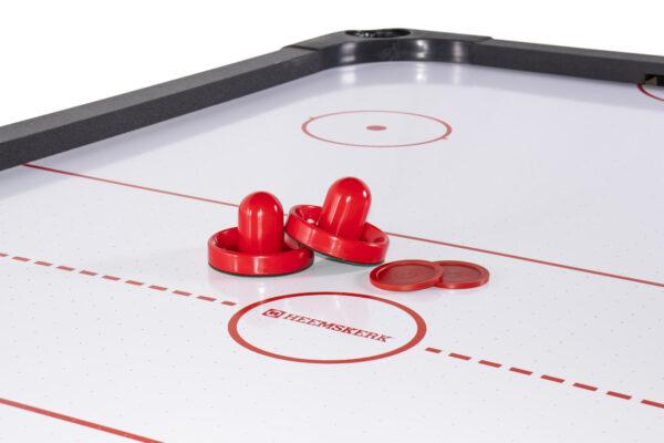 Airhockeytafel Heemskerk Powerplay met Pushers en Pucks
