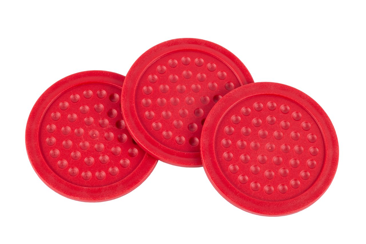 Airhockey Pucks 73mm Floater Rood