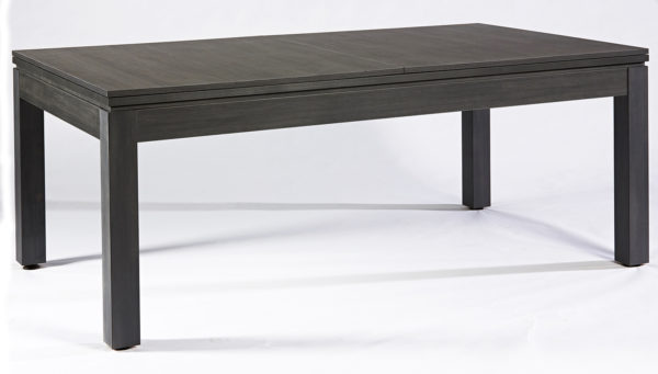 Pool- & Eettafel Heemskerk Centre Shot 6ft Dark Grey Gesloten