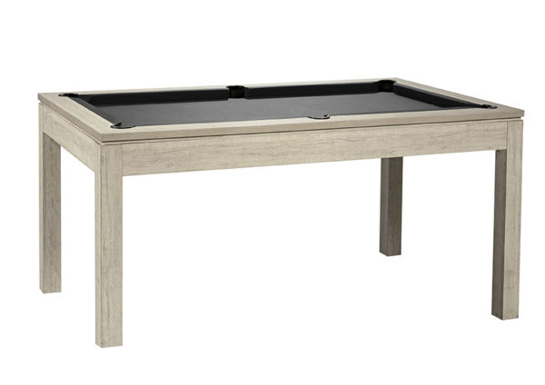 Pool- & Eettafel Heemskerk Centre Shot 6ft Oregon met Grijs Laken