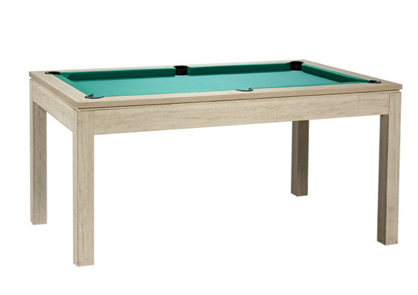 Pool- & Eettafel Heemskerk Centre Shot 6ft Oregon met Groen Laken
