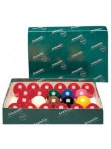 Snookerballen 57,2 mm