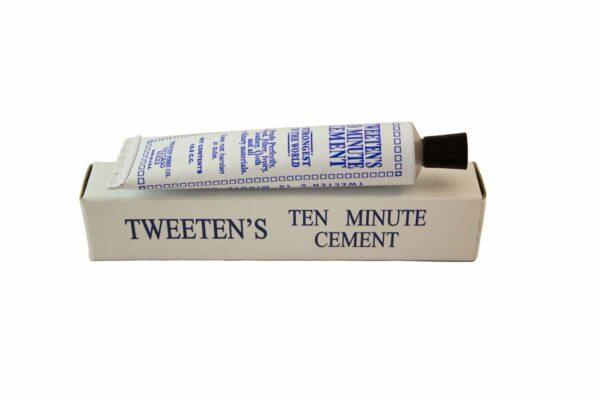 Tweetens Tien Minuten Pomeranslijm Tube en Doosje
