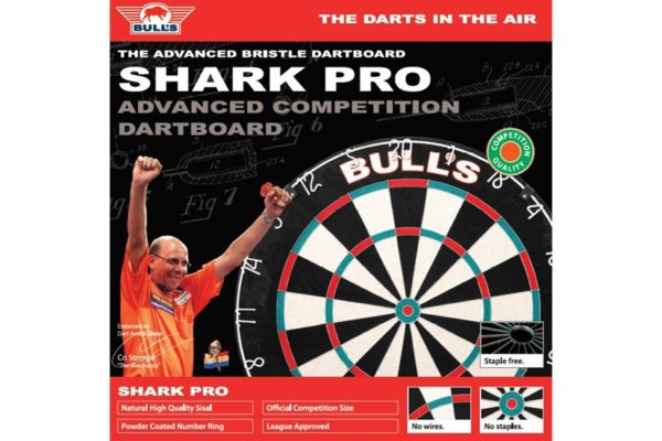 Dartbord Shark Pro Doos