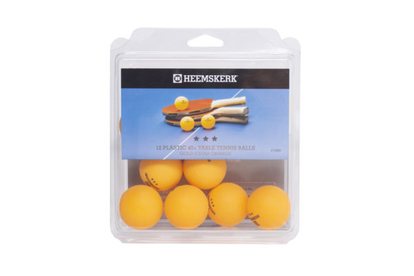 Tafeltennisballetjes Heemskerk Gold Oranje Per 12