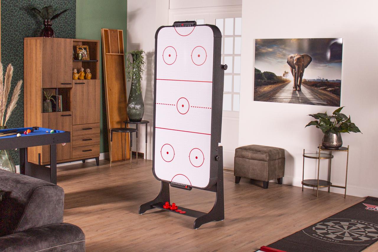 Airhockeytafel Heemskerk Slimplay Ingeklapt