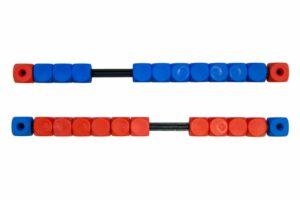 Scoretellers Rood-Blauw