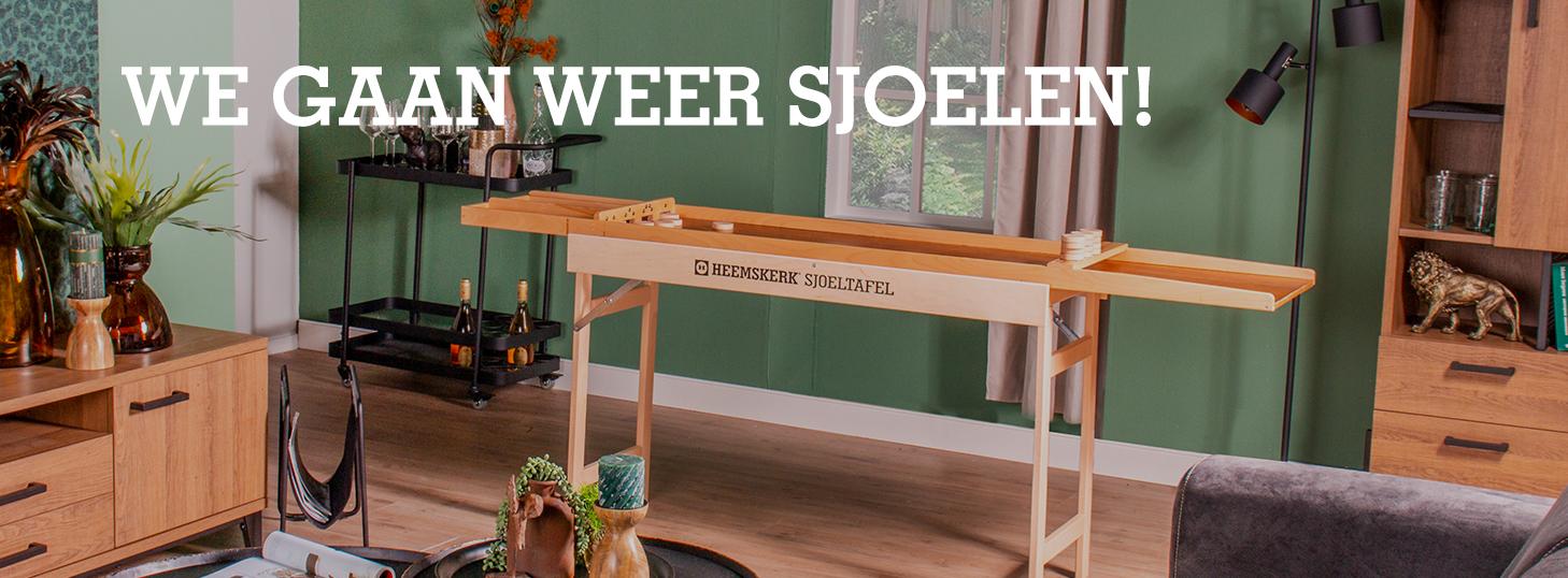 Banner Sjoelen