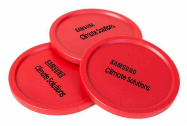 Gepersonaliseerde Airhockeypucks _ Samsung Climate