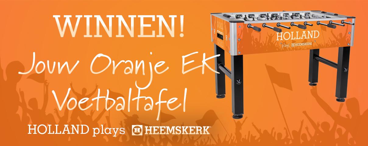 Banner EK Oranje Actie